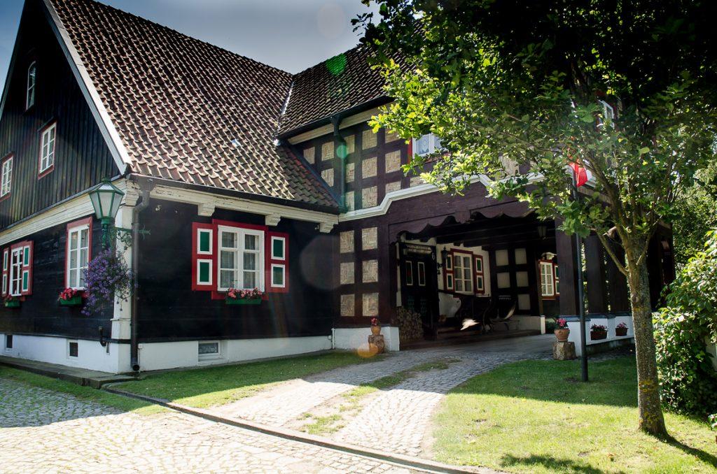 Dom podcieniowy z połowy XIX w., Żuławki