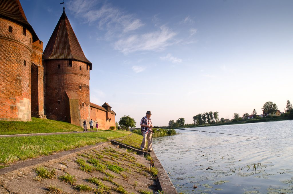 Nogat, Malbork