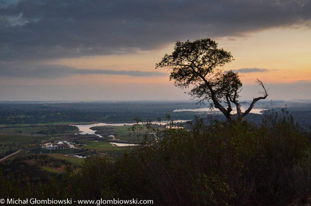 Granice posiadłości Herdade do Sobroso wyznacza rzeka Guadiana oraz możliwości wyobraźni