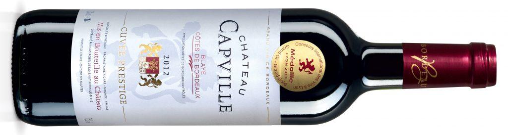 Chateau Capville 2012 - wybaczcie zdjęcie katalogowe, ale moja butelka została zalana smugami wina i nic już na niej nie widać.