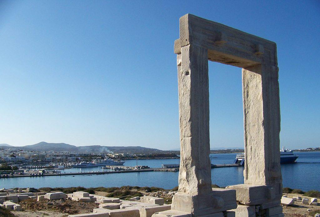 Świątynia Apollona na Delos, Cyklady, Grecja