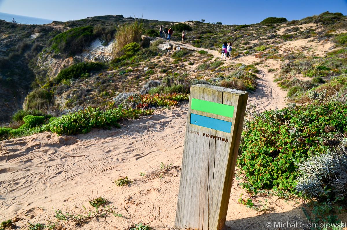 350 km pieszej trasy wzdłuż atlantyckiego wybrzeża - Rota Vicentina - to jeden z sekretnych atutów, dla którego warto przyjechać do Portugalii.