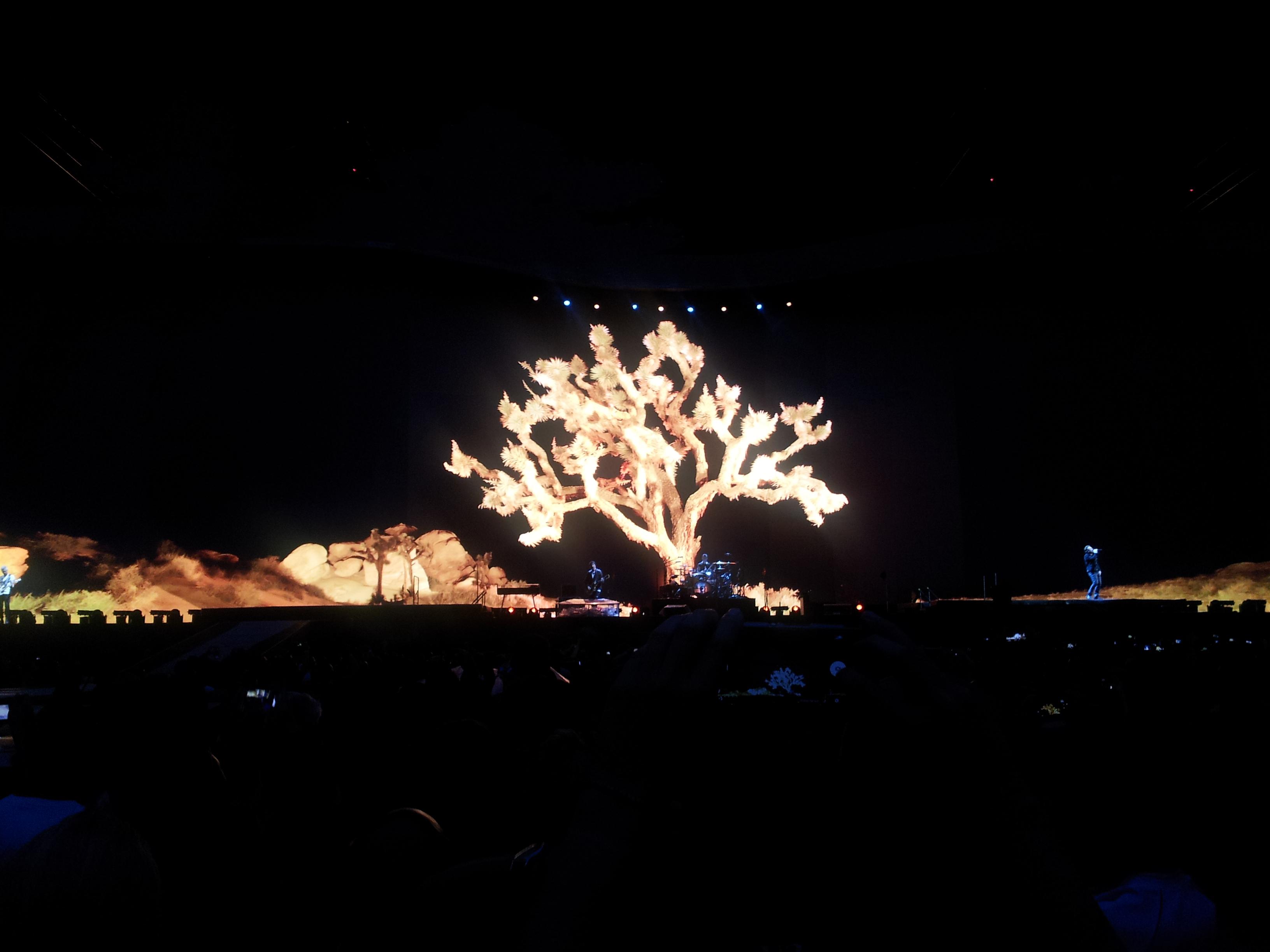 U2 The Joshua Tree Tour - drzewko powróciło