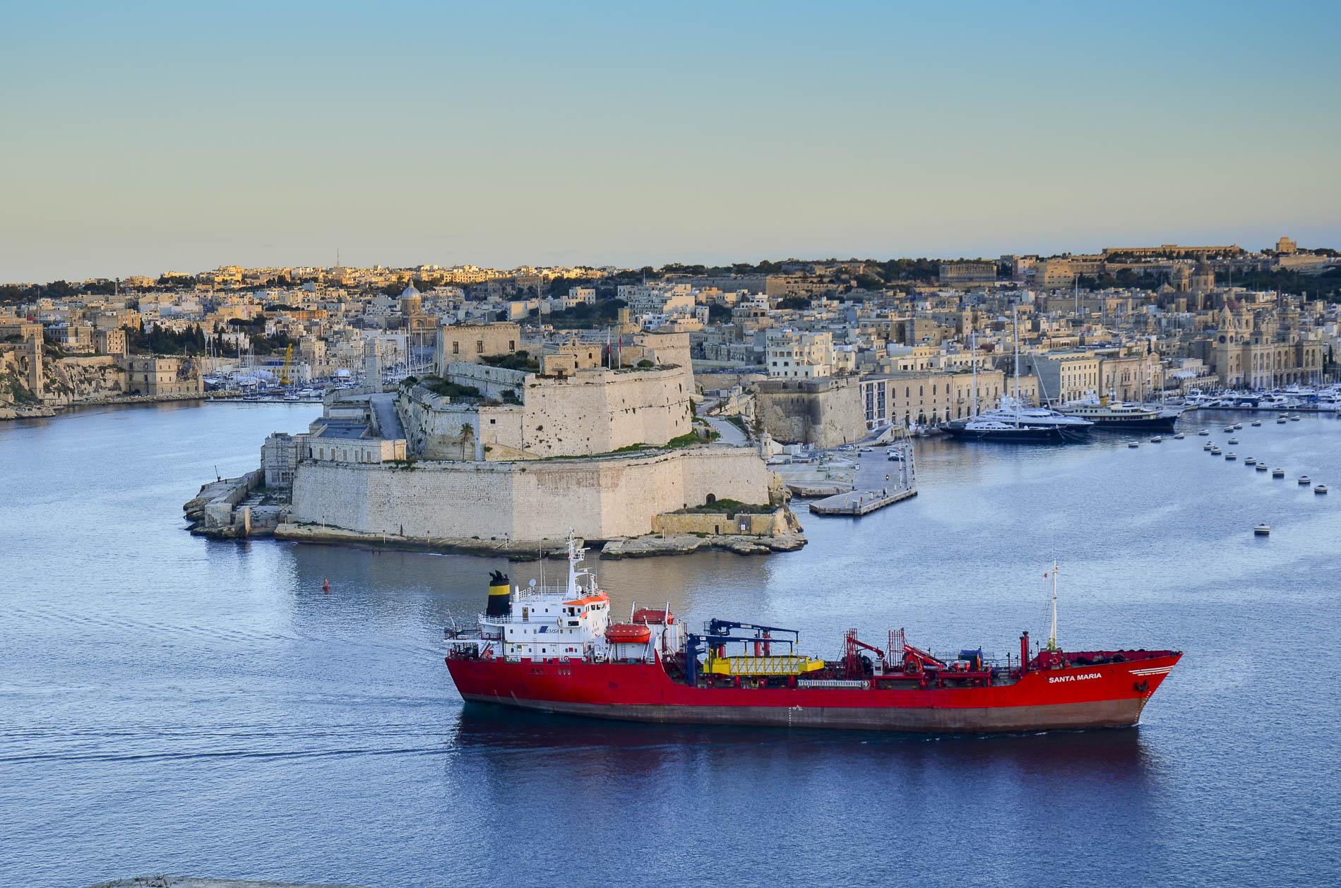 Widok z Valletty na Sliemę. Malta / fot. Michał Głombiowski