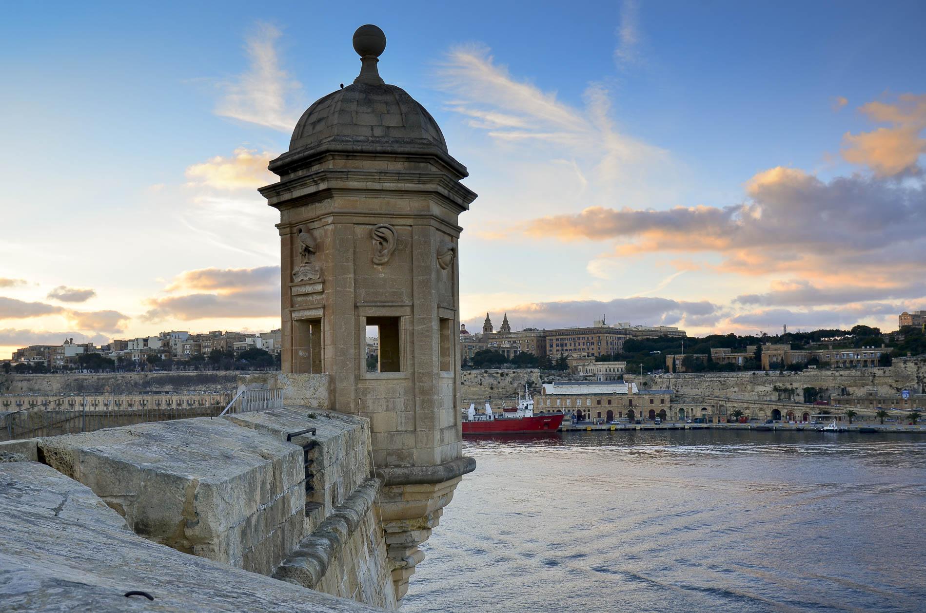 Fort Elmo, Valletta, Malta / fot. Michał Głombiowski