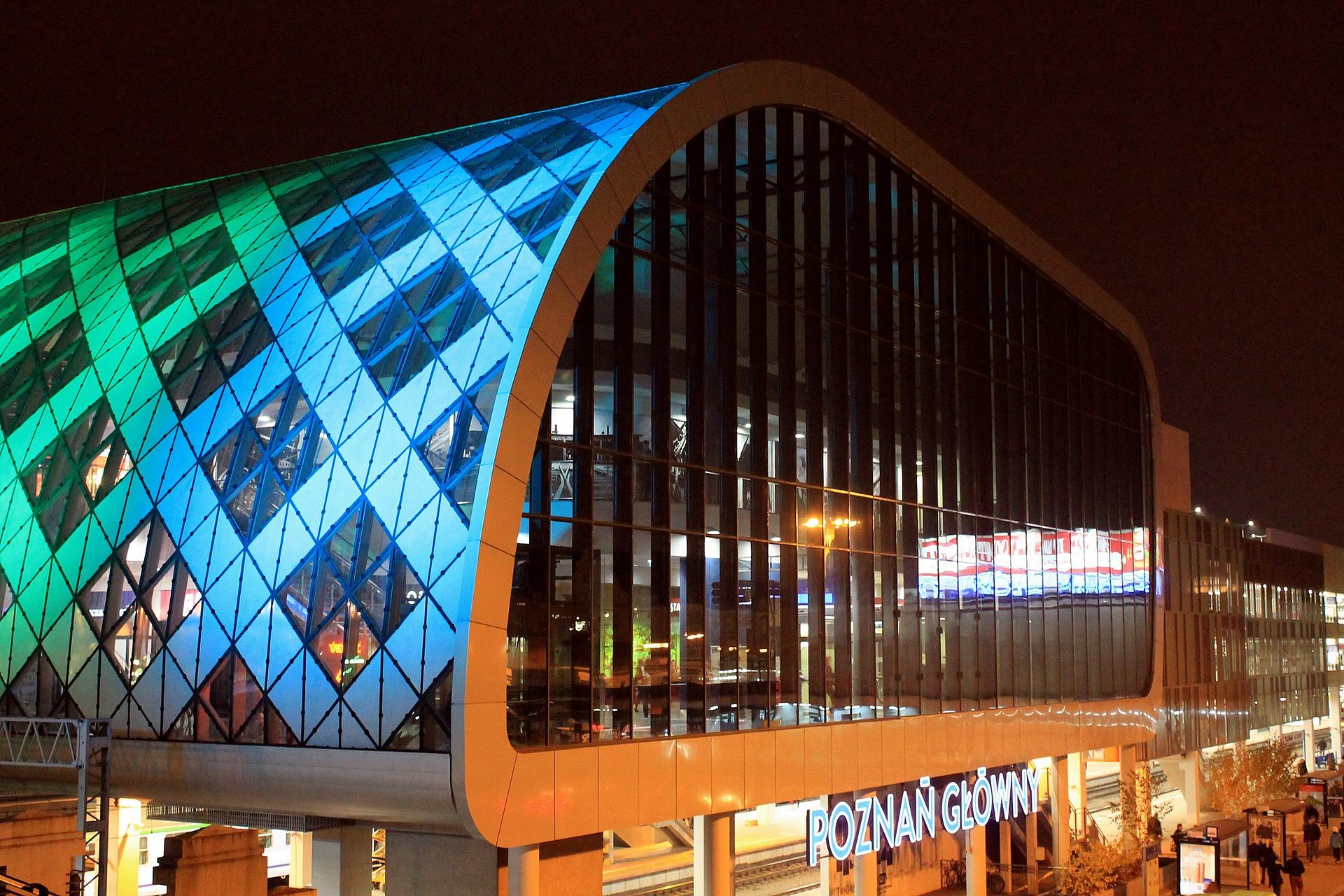 Nowy dworzec kolejowy odmienił architektoniczne oblicze Poznania / fot. CC0